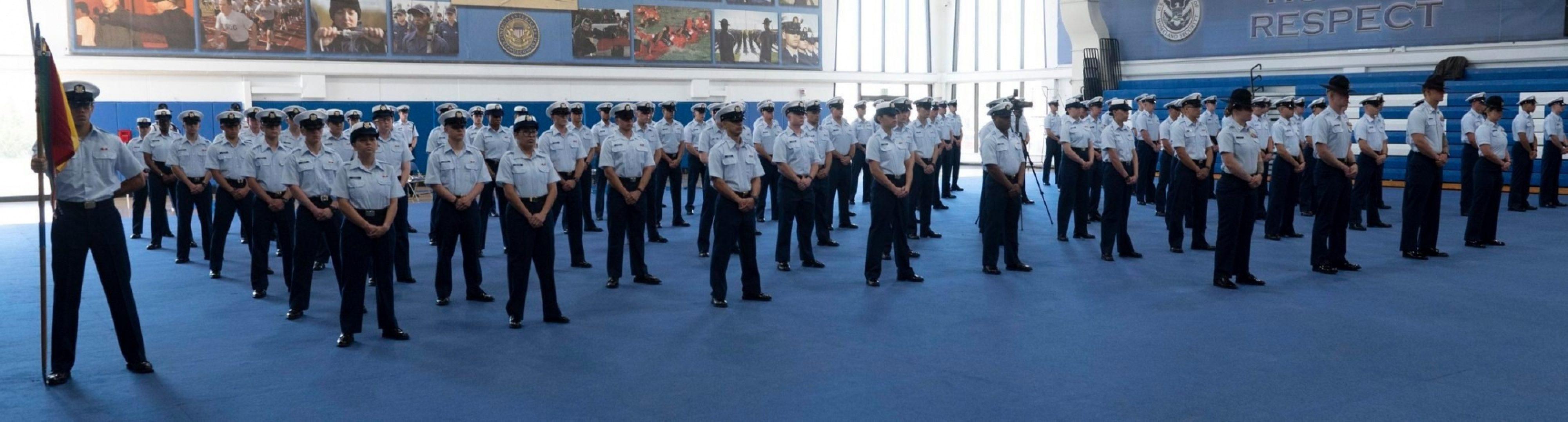 Coast Guard Graduation Oscar 198