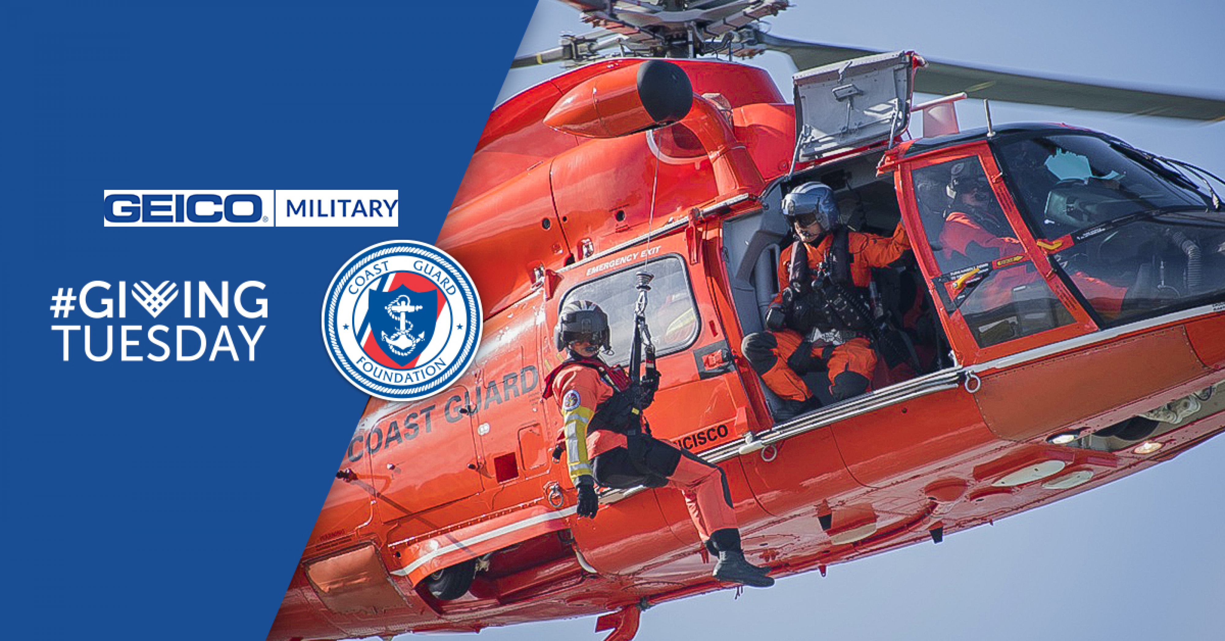 Giving Tuesday | Coast Guard Foundation