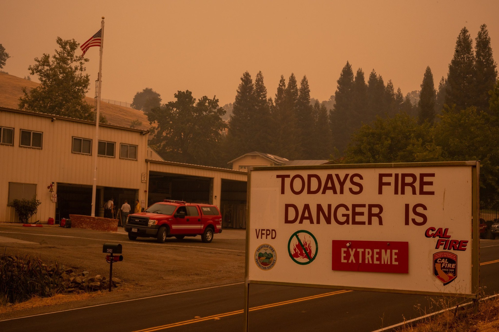 Disaster relief ca wildfires